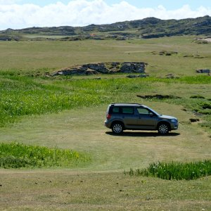 By the golf course, Colonsay