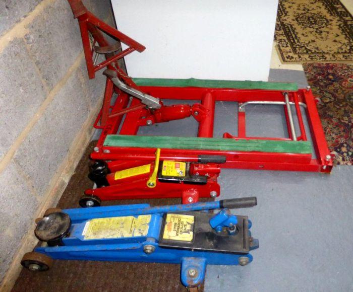 Trolley jacks what 39 s in your garage skoda yeti forums for Garage skoda paray vieille poste